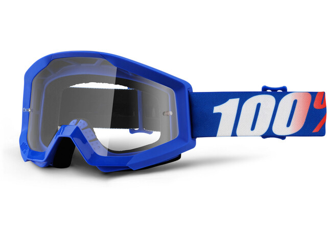 100% Strata goggles blauw